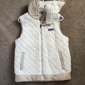 Patagonia Fleece Hooded Vest